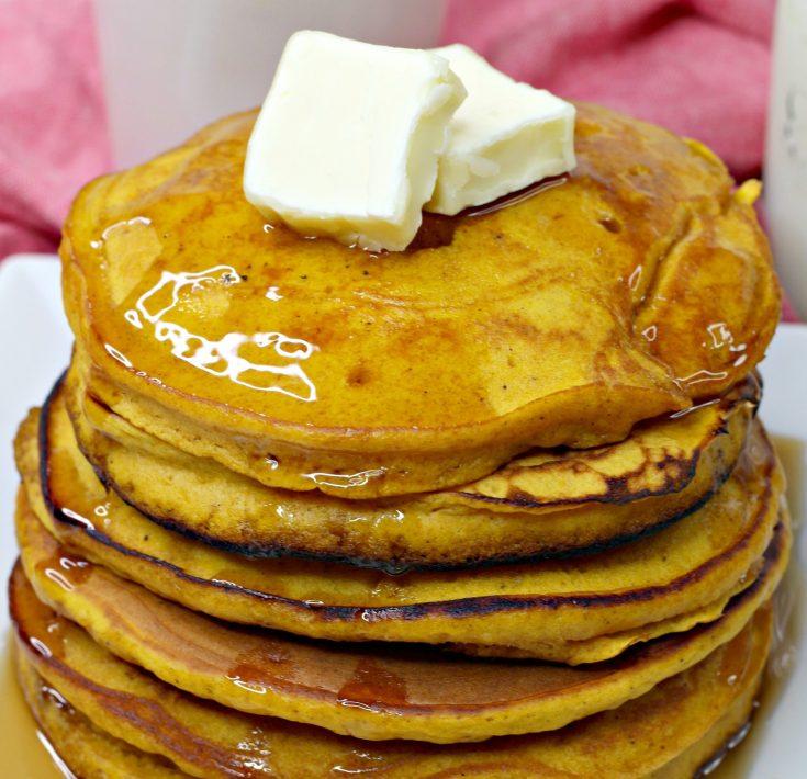 pumpkin pancakes card