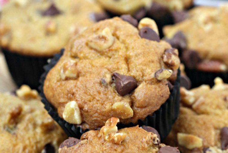 ww banana chocolate chip muffins 4