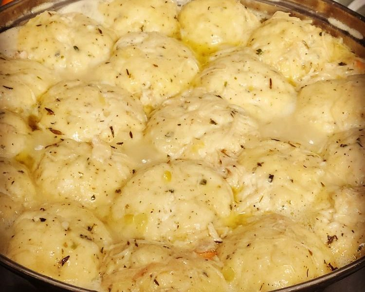 chicken and dumplings 1
