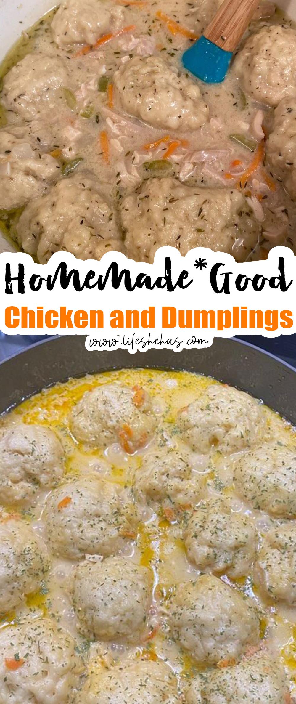 chicken and dumplings pin
