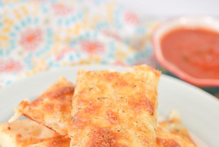 homemade cheesy garlic breadsticks 5