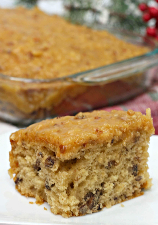 butter pecan sheet cake 1