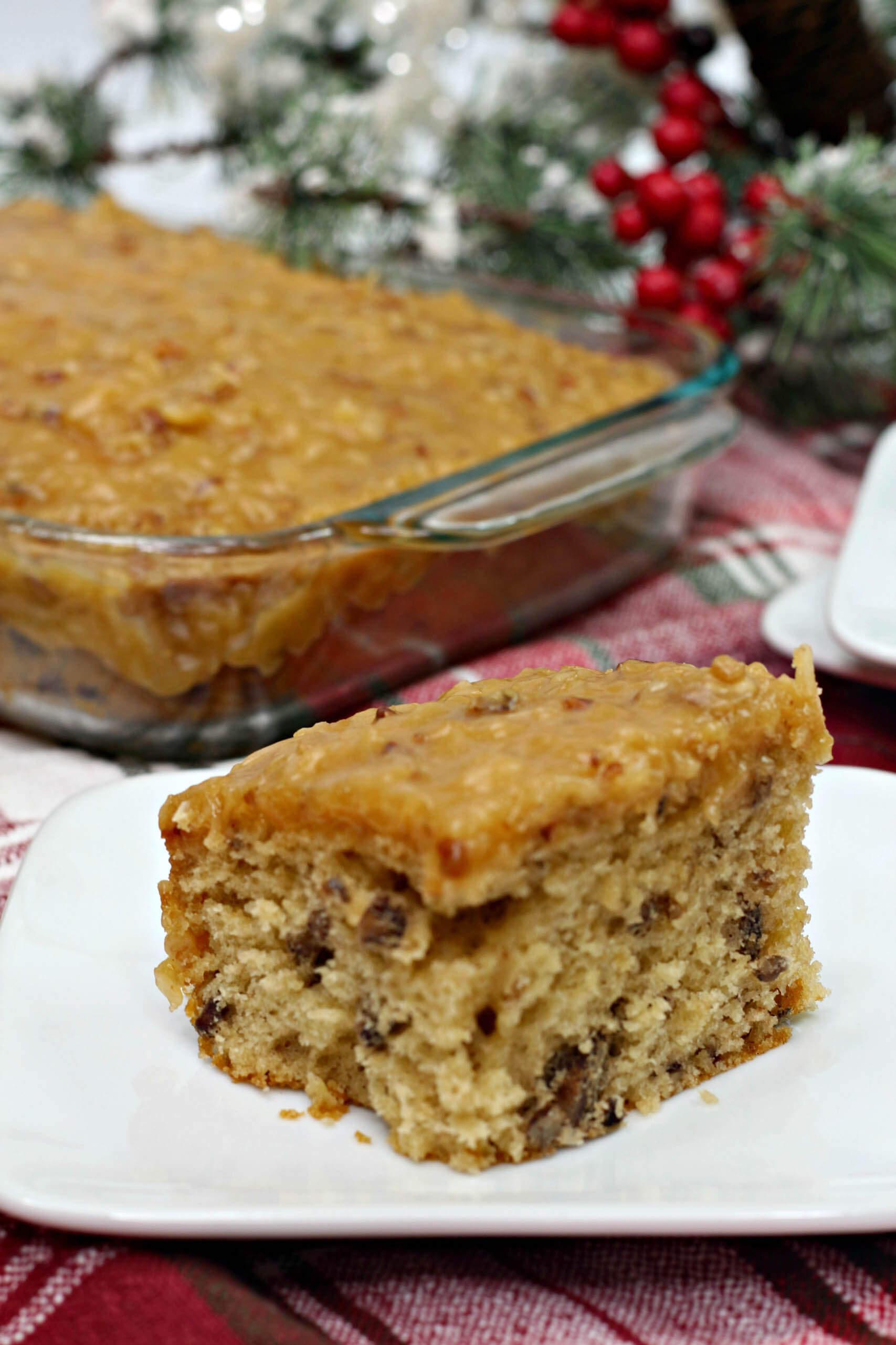 butter pecan sheet cake 3
