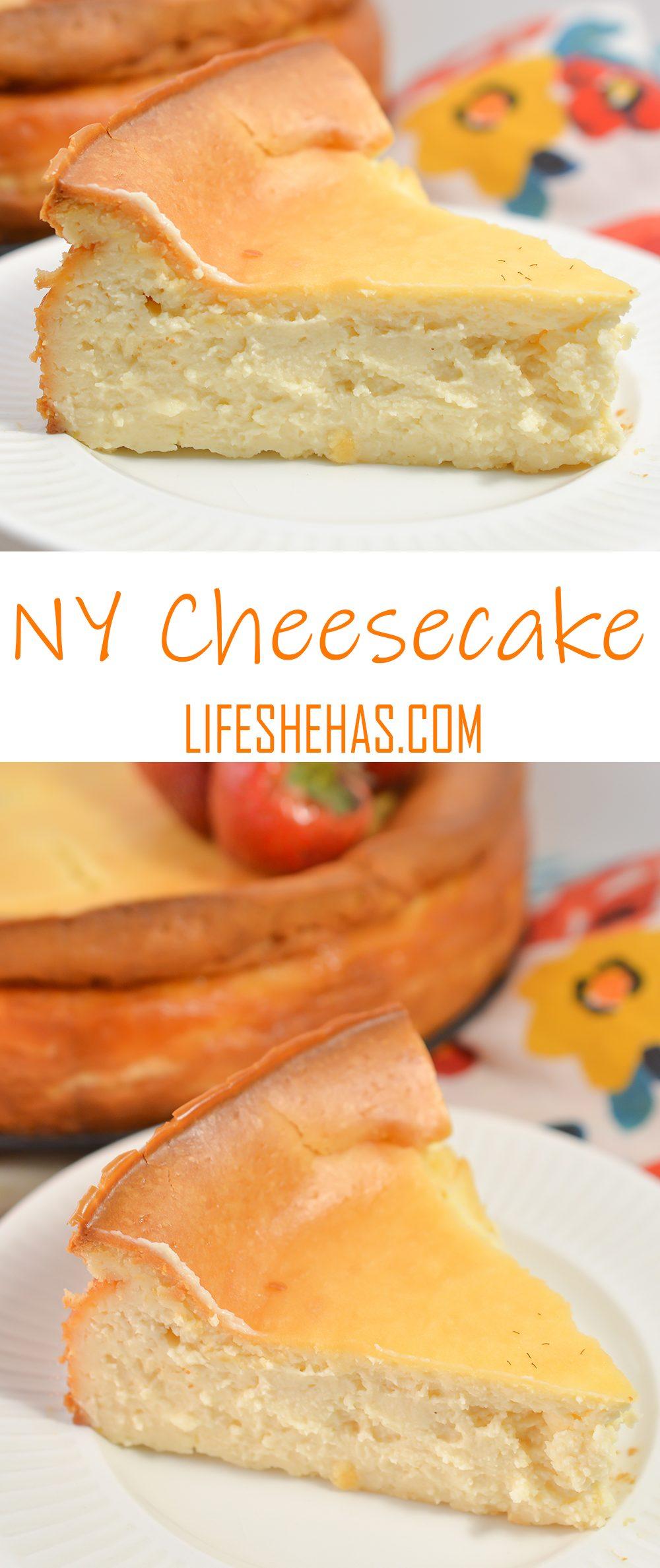 ny cheesecake pinterest pin template